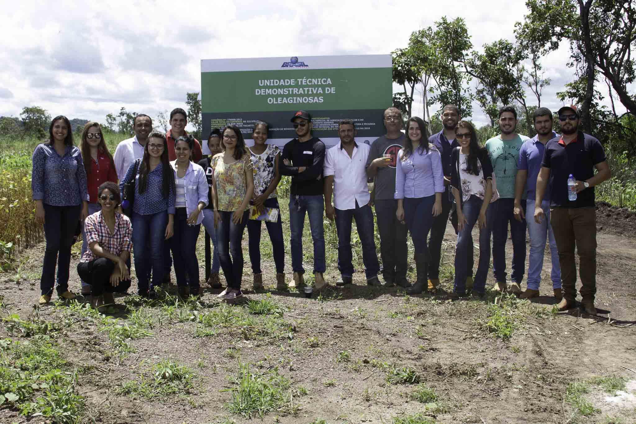 """Dia de Campo """"Culturas Oleaginosas com Potencial para Produção de Biodiesel"""""""