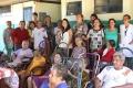 Servidores da Unitins fazem entrega de alimentos a abrigo em Porto Nacional