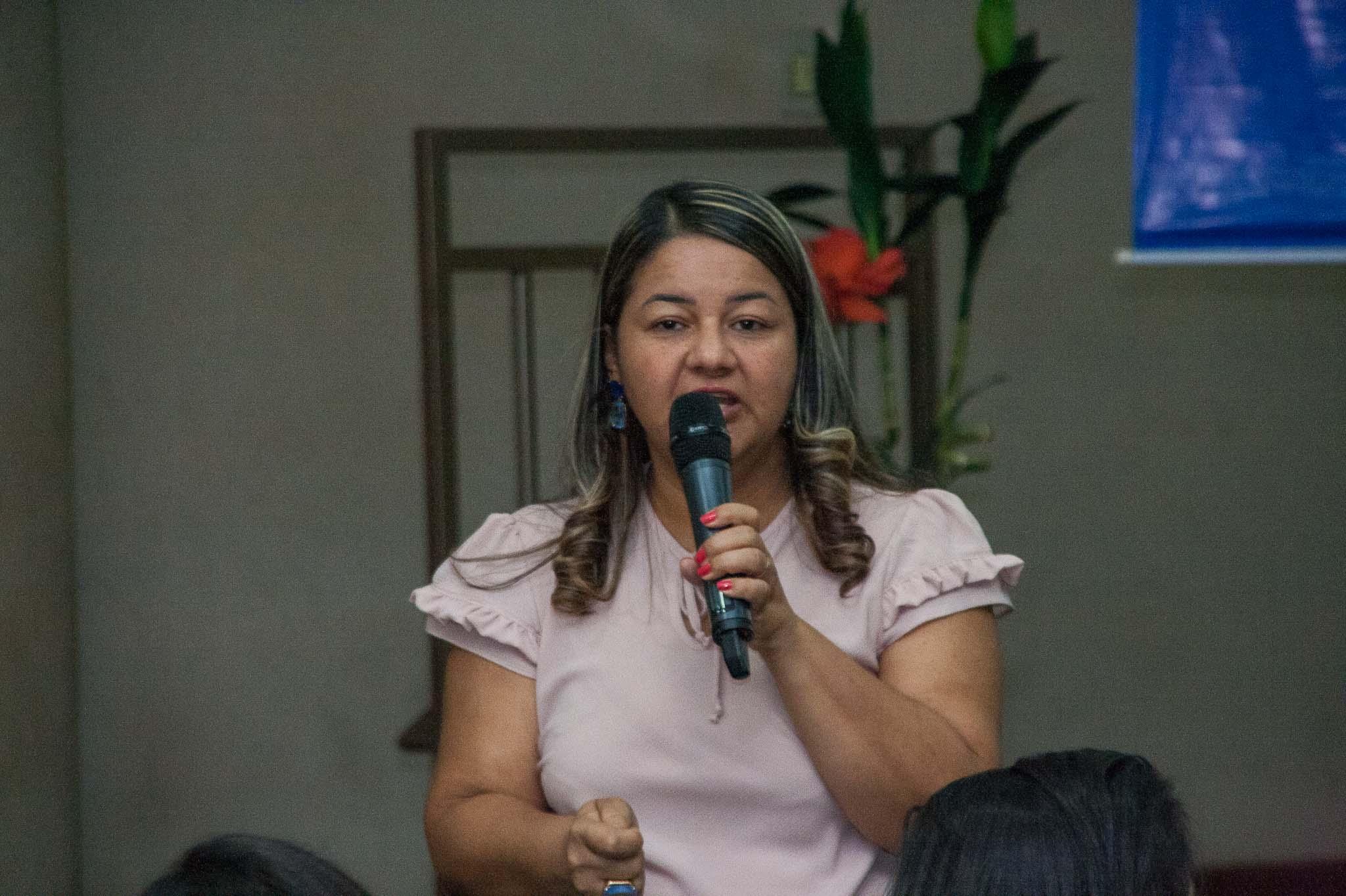 Reitora Suely Quixabeira destaca a importância da integração do ensino, pesquisa e extensão para cumprimento da missão da Universidade