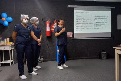 Discentes de Enfermagem apresentam resultados de estudos clínicos desenvolvidos durante estágio