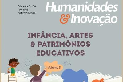 """Revista Humanidades & Inovação publica dossiê """"Infância, Artes e Patrimônios Educativos"""""""
