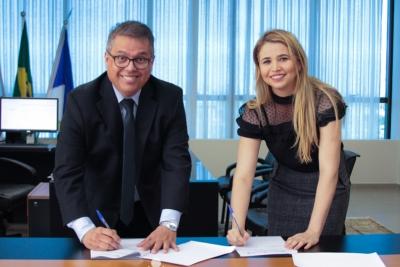 Unitins e TCE firmam parceria para desenvolvimento de projetos nas áreas de inovação tecnológica e governança