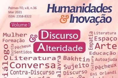 Revista Humanidades e Inovação publica dossiê sobre Discurso e Alteridade