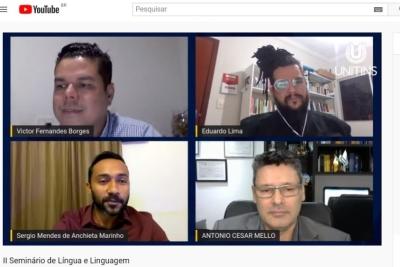 Abertura do II Seminário de Língua e Linguagem discute discurso jornalístico e Língua Portuguesa