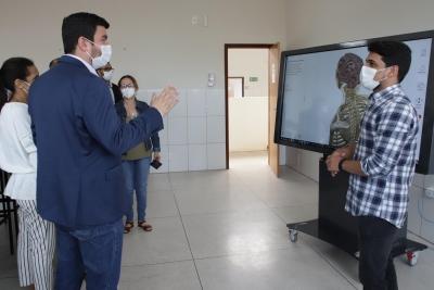 Comissão do Conselho Estadual de Saúde faz avaliação do Câmpus Augustinópolis para validar curso de Medicina da Unitins
