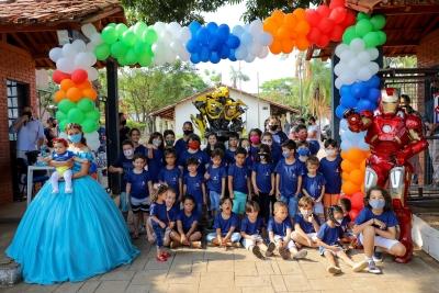 Unitins realiza ação especial alusiva ao Dia das Crianças para filhos de servidores