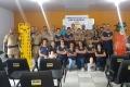 Acadêmicos de Enfermagem e PM finalizam 1ª treinamento do projeto Guardiões