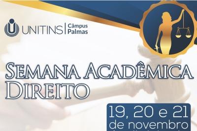 CA de Direito do Câmpus Palmas realiza Semana Acadêmica a partir de 2ª