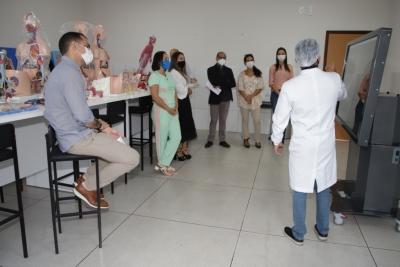 Conselho Estadual de Educação visita Câmpus Augustinópolis para avaliar abertura do curso de Medicina da Unitins