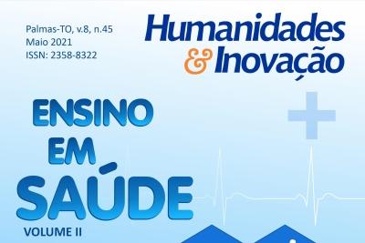 Revista Humanidades & Inovação publica dossiê Ensino em Saúde