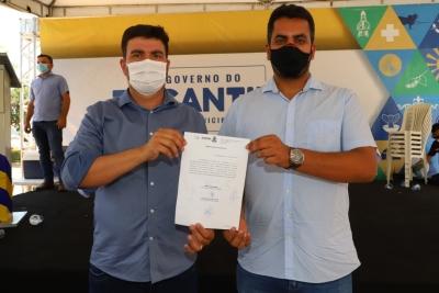 Com recomendação do CES para curso de Medicina, Governo retoma obras no Hospital Regional de Augustinópolis
