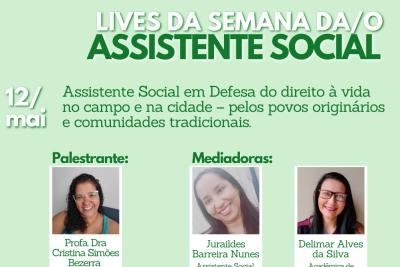 Semana do Assistente Social tem foco na defesa do Estado Social e na valorização da profissão