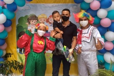 Filmes e brincadeiras marcam o Dia das Crianças com filhos dos servidores dos Câmpus de Augustinópolis e Araguatins