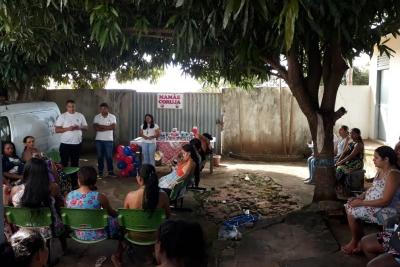 Acadêmicos de Enfermagem participam de mais uma edição do projeto Mamãe Coruja