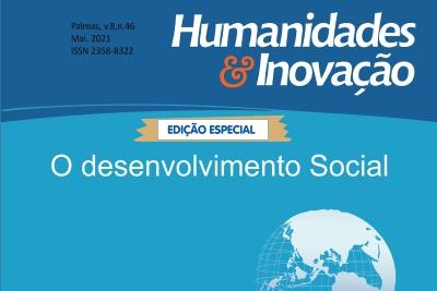 """Humanidades & Inovação publica dossiê intitulado """"O desenvolvimento social"""""""