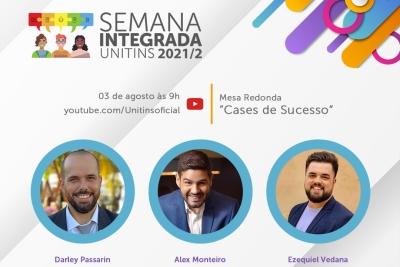 Unitins discute cases de sucesso com Alex Monteiro e criadores do Tonolucro e Piipee em live nesta 3ª