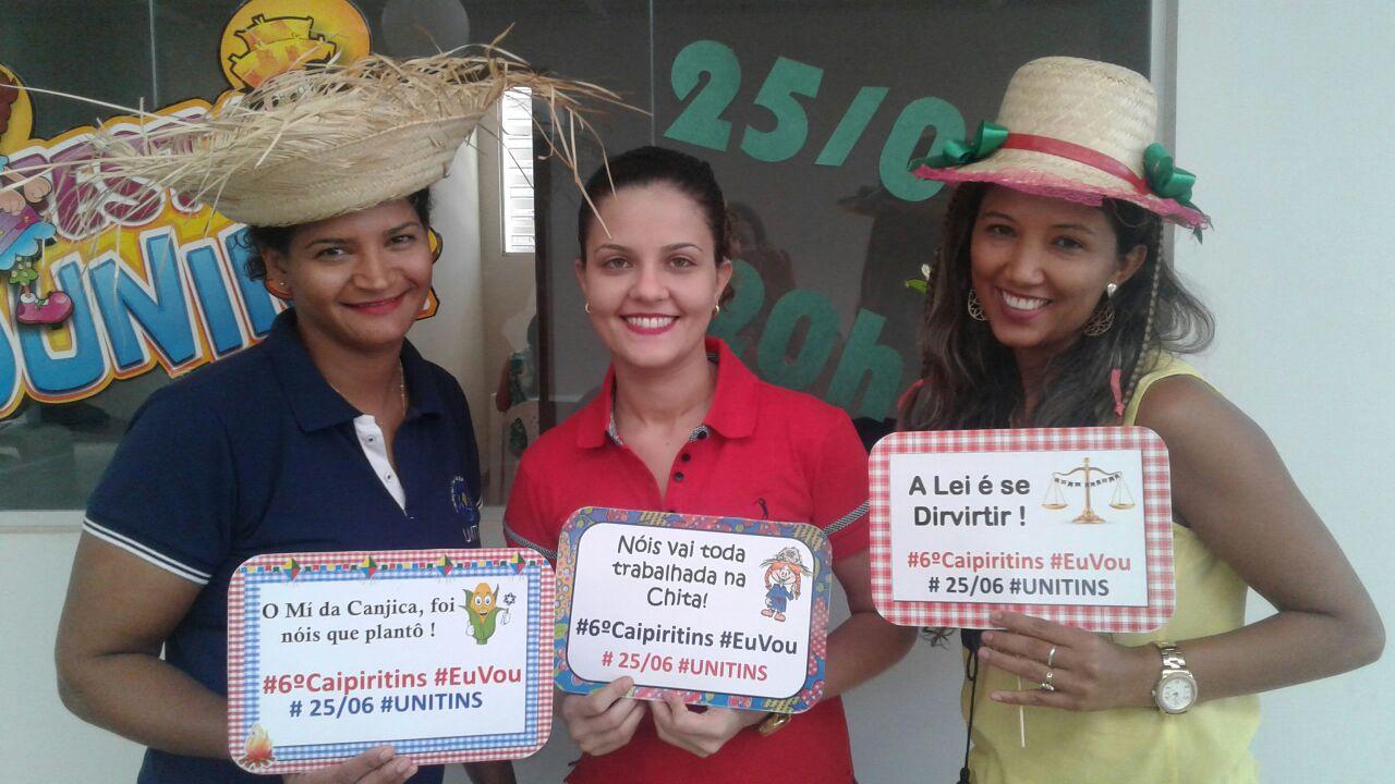 Comunidade acadêmica se mobiliza para a Caipiritins em Palmas