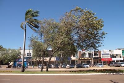 Tocantins registra fortes rajadas de vento em todas as regiões do estado