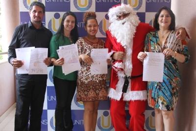 Campanha Natal Solidário da Unitins sensibiliza comunidade acadêmica em Palmas