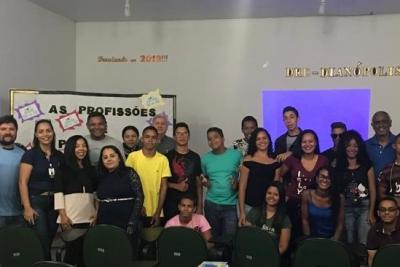 Câmpus Dianópolis participa de projeto voltado para profissões