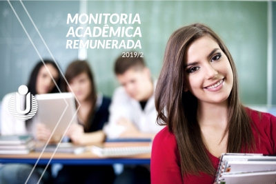 Unitins lança edital de monitoria acadêmica remunerada para o semestre 2019/2