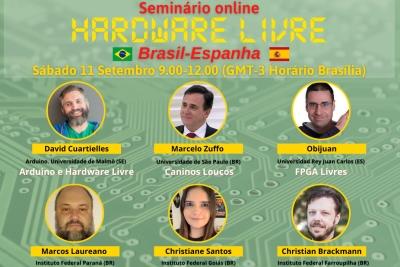 Escritório da Educação da Embaixada da Espanha promove Seminário de Hardware livre Brasil-Espanha
