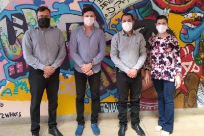Avaliadores do Conselho Estadual da Educação visitam unidades da Unitins em Palmas para recredenciamento institucional