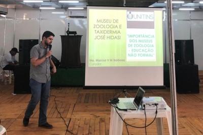 Nuta e Museu de Zoologia e Taxidermia da Unitins participam da Semana da Cultura de Porto Nacional